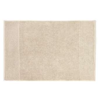 John Lewis Egyptian Cotton Bath Mat - Linen 50 x 80cm