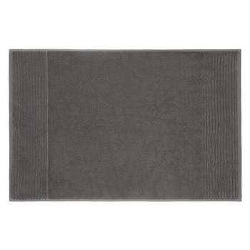 John Lewis Egyptian Cotton Bath Mat - Steel 50 x 80cm