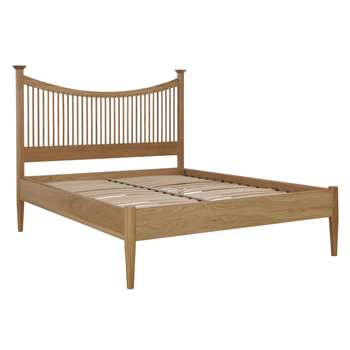 John Lewis Essence Low End Bed Frame, Oak, King Size 126 x 217cm