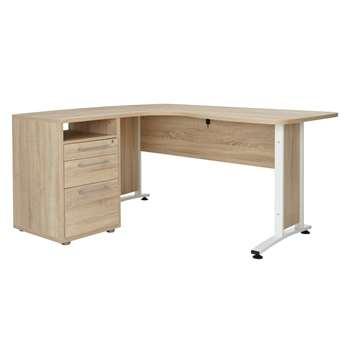 John Lewis Estelle Corner Desk (74.5 x 159 x 155cm)