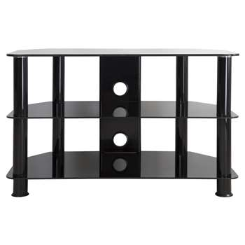 """John Lewis GP800 TV Stand for TVs up to 40"""" - Black (50 x 80cm)"""