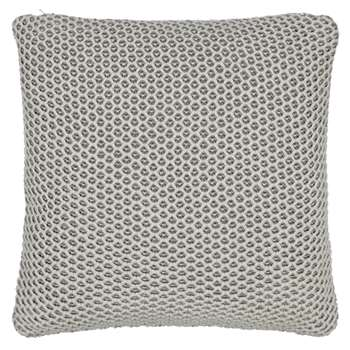 John Lewis Honeybee Cushion, Smoke (40 x 40cm)