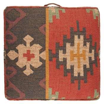 John Lewis Kelim Floor Cushion, Multi (15 x 70cm)