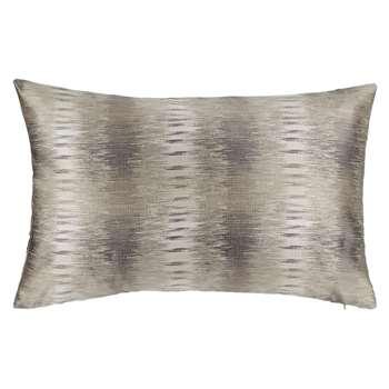 John Lewis Loren Cushion, Pewter (60 x 40cm)