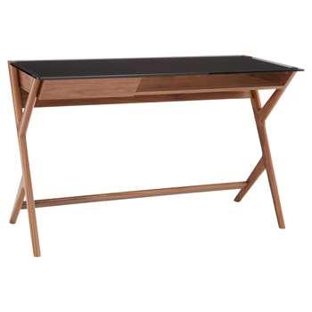 John Lewis Mantis Desk, Walnut (H75 x W120 x D55cm)