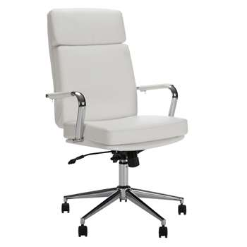 John Lewis May Office Chair, White (105 x 61cm)