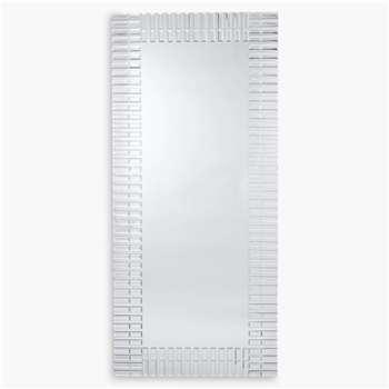 John Lewis & Partners Morello Full-Length Mirror, Clear (H150 x W68cm)