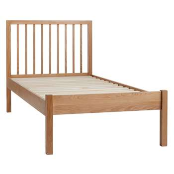 John Lewis Morgan Bed Frame, Single, Oak (H100 x W97 x D199.2cm)
