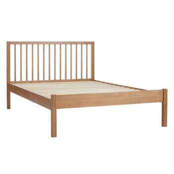 John Lewis Morgan Bed Frame, Small Double, Oak (H100 x W127 x D199.2cm)