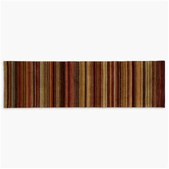 John Lewis Multi Stripe Runner, Harvest (240 x 70cm)