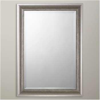 John Lewis & Partners Annabelle Wall Mirror, Silver (H115 x W89 x D3.5cm)