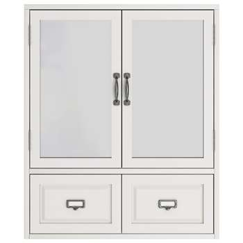 John Lewis & Partners Apothecary Double Mirrored Bathroom Cabinet (H63.5 x W67 x D15cm)