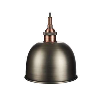 John Lewis & Partners Baldwin Bathroom Ceiling Light, Pewter (H10.6 x W16 x D16cm)
