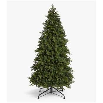 John Lewis & Partners Brunswick Spruce Unlit Christmas Tree, 9ft (H270 x W165 x D165cm)