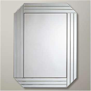 John Lewis & Partners Burgate Mirror, Clear (H101 x W76 x D2cm)