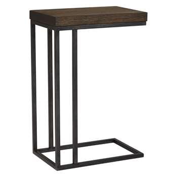John Lewis & Partners Calia Sofa Side Table, Dark (H60 x W40 x D25cm)