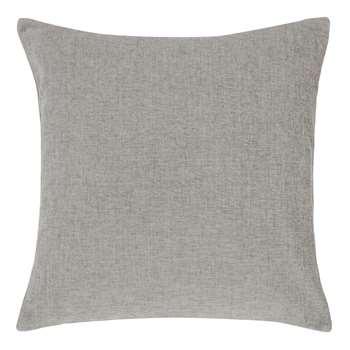 John Lewis & Partners Chenille Cushion, Silver (H50 x W50cm)