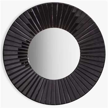 John Lewis & Partners Chester Round Mirror (H80 x W80 x D5cm)