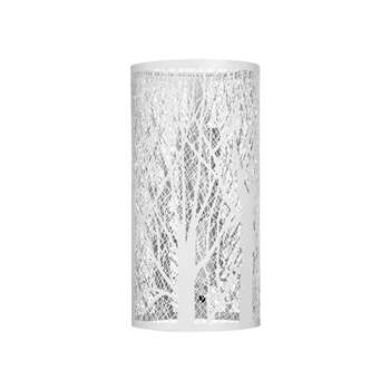 John Lewis & Partners Devon Wall Light, White (H25.5 x W12.8cm)