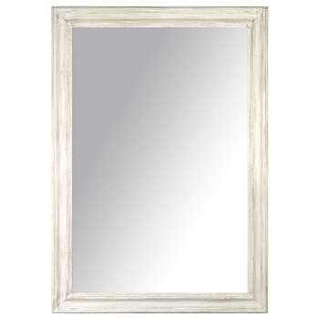 328441462fc6 John Lewis & Partners Distressed Mirror, Cream (H102 x W72 x D4cm)