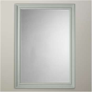 John Lewis & Partners Distressed Mirror, Duck Egg (H102 x W72 x D3.5cm)