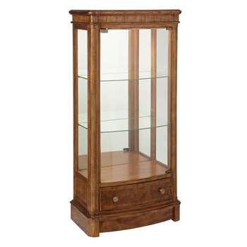 John Lewis & Partners Hemingway Display Cabinet (H133 x W62 x D37cm)