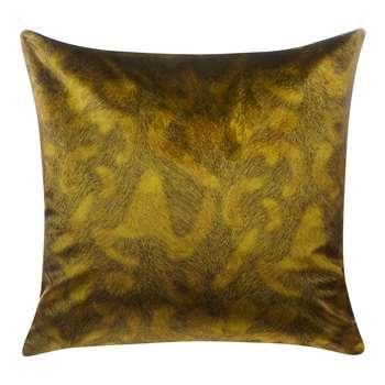 John Lewis & Partners Italian Velvet Cushion, New Tiger's Eye (H50 x W50cm)