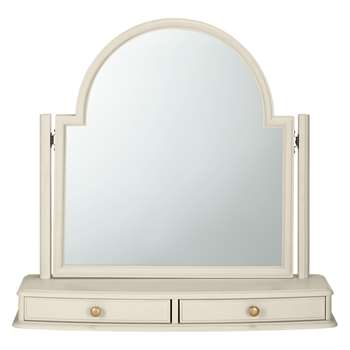 John Lewis & Partners Ivybridge Dressing Table Mirror (H75 x W78.6 x D22cm)