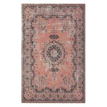John Lewis & Partners Jaipur Rug, Pink (H230 x W160cm)