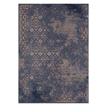 John Lewis & Partners Keishana Rug, Blue (H160 x W230cm)