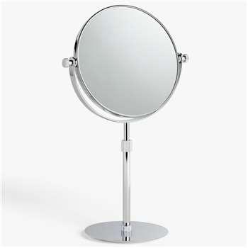 John Lewis & Partners Large Bond Pedestal Mirror (H50.5 x W23cm)