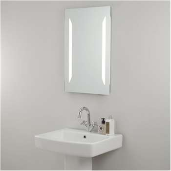 John Lewis & Partners LED Frost Illuminated Bathroom Mirror (H70 x W45 x D4cm)