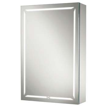 John Lewis & Partners LED Illuminated Wireless Sound Bathroom Cabinet (H70 x W50 x D14cm)