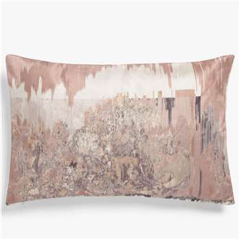 John Lewis & Partners Marciano Embroidery, Pink / Multi (H40 x W60cm)