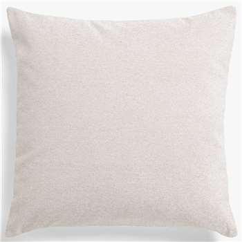 John Lewis & Partners Misano Velvet Cushion, Putty (H50 x W50cm)