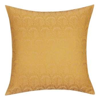 John Lewis & Partners Pavone Cushion, Gold (H45 x W45cm)