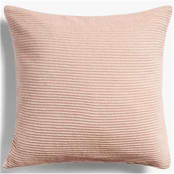 John Lewis & Partners Rib Knit Cushion, Plaster (H50 x W50cm)