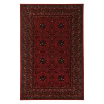 John Lewis & Partners Royal Heritage Herati Rugs, Red (H135 x W200cm)