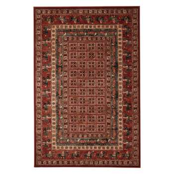 John Lewis & Partners Royal Heritage Pazyrk Rugs, Red (H160 x W240cm)