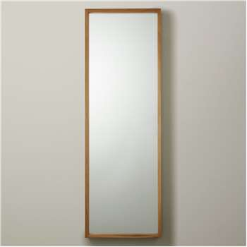John Lewis & Partners Scandi Oak Mirror, Natural (H135 x W45cm)