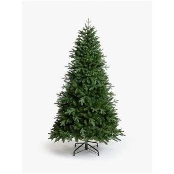 John Lewis & Partners Serbian Green Spruce Unlit Christmas Tree, 7ft (H210 x W130 x D130cm)