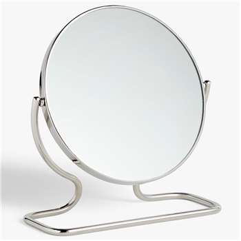 John Lewis & Partners Short Framed Pedestal Mirror (H24 x W23cm)