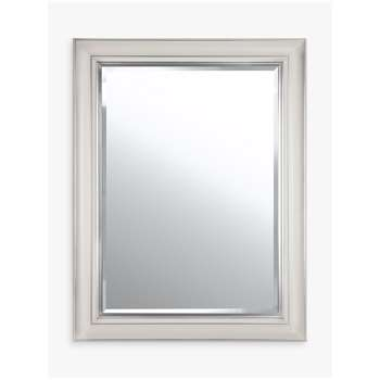 John Lewis & Partners Silver Line Bevelled Mirror (H105 x W75cm)