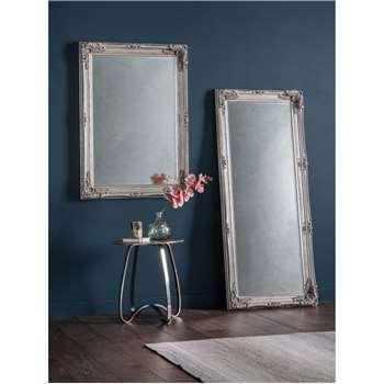 John Lewis & Partners Sophia Leaner Mirror, Silver (H67 x W156 x D7.5cm)