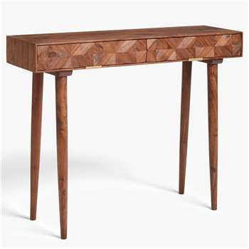 John Lewis & Partners + Swoon Franklin Console Table (H78.5 x W101.5 x D32.5cm)