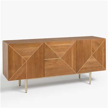John Lewis & Partners + Swoon Mendel Sideboard, Light Brown (H76.5 x W162 x D45cm)