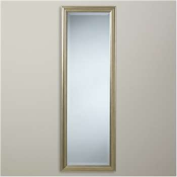 5ff249687711 John Lewis & Partners Wilde Slim Full Length Mirror, 120 x 40cm, Gold (
