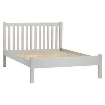 John Lewis & Partners Wilton Bed Frame, Double, Grey (H102 x W144 x D202cm)