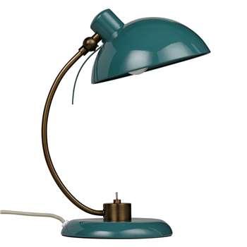 John Lewis Penelope Task Lamp - Green (34.4 x 18cm)
