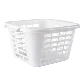 John Lewis Plastic Laundry Basket 25 x 50cm